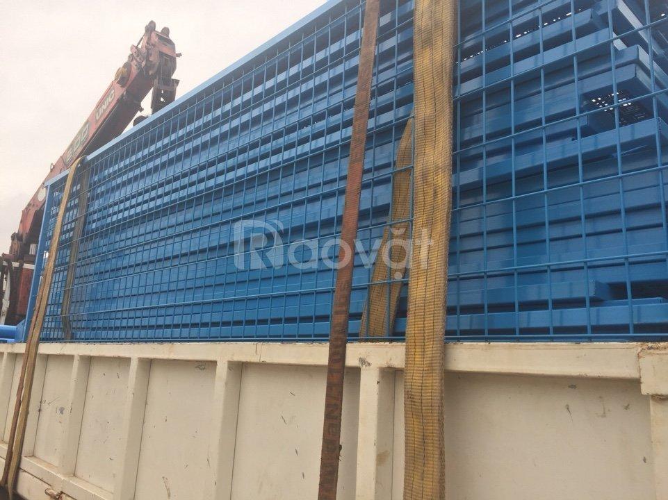 Cung cấp hàng rào cột trái đào, hàng rào cột khóa thông minh