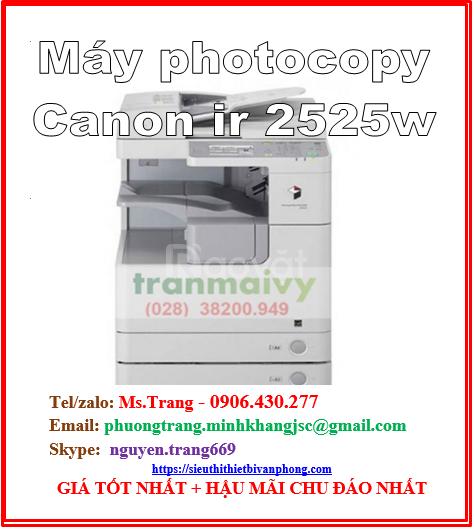 Máy Canon ir 2525w, máy photo chính hãng Canon 2525w giá rẻ