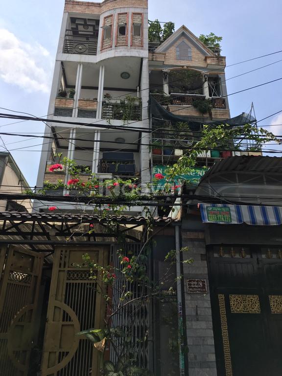 Bán nhà phố HXH Gò Vấp