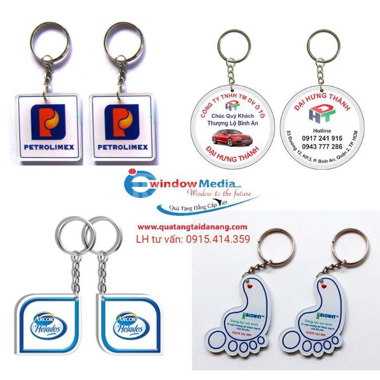 Địa chỉ sản xuất móc khóa quảng cáo giá rẻ tại Đà Nẵng