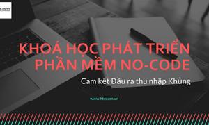 Khoá học phát triển web-app No code