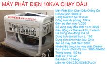 Bán máy phát điện Honda 10kva Diesel