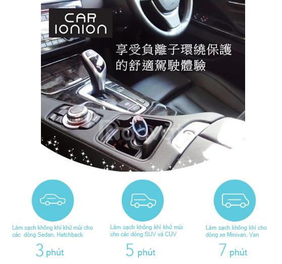 Máy khử mùi ôtô nhanh Nhật Bản