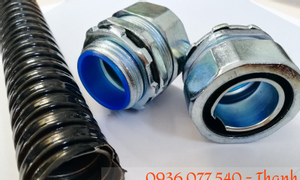 Ống kẽm đàn hồi bọc nhựa PVC, ống ruột gà phi 1 1/4 inch