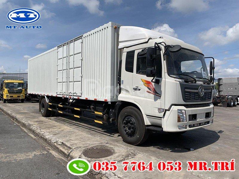 Xe tải Dongfeng 7.6 tấn, thùng container 9m7 chở pallet