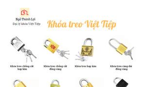 Bền, đẹp, sang, an toàn tiện lợi đã có khóa treo Việt Tiệp