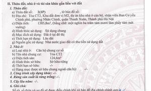CC căn góc 125m2, đông nam,2 mặt tiền, Lê Văn Lương Khuất Duy Tiến