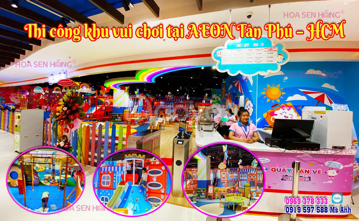 Thiết kế và thi công khu vui chơi trong nhà Dream Kids