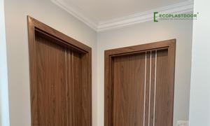 Cửa gỗ nhựa Việt Pháp Ecoplast door