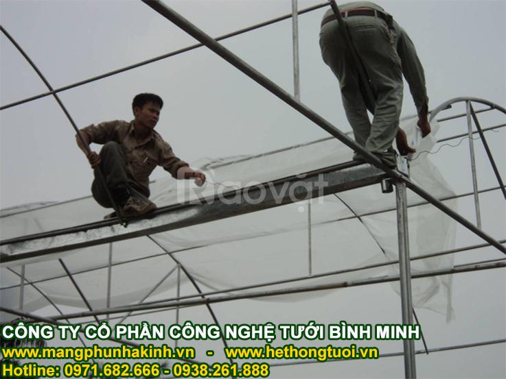 nhà lưới mini, cách làm nhà lưới đơn giản,tự làm nhà lưới