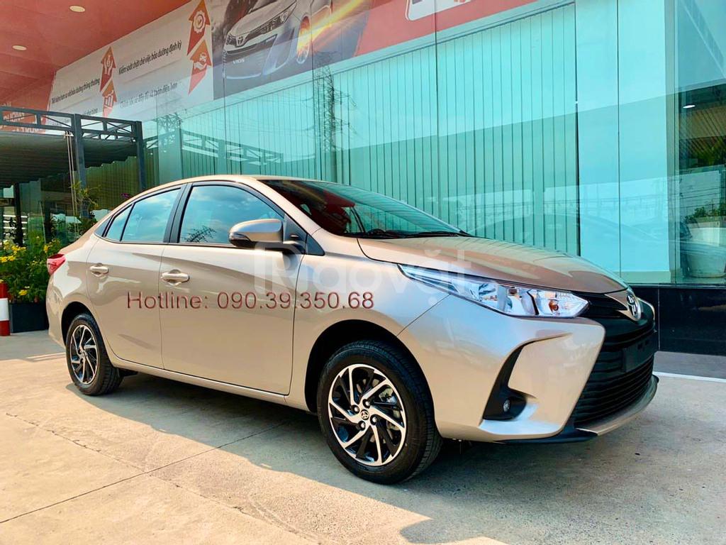 Toyota Vios 2021 giảm giá tiền mặt, ưu đãi lãi suất chỉ 0.41%/tháng