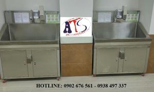 Bồn rửa tay tiệt trùng phòng mổ loại 1, 2, 3 vòi