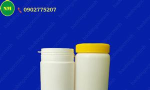 Hủ nhựa nhỏ 50gr, hủ nhựa đựng bột gạo, tinh bột, hộp nhựa thực phẩm