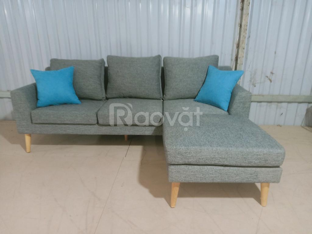 Ghế sofa vải ngoại nhập