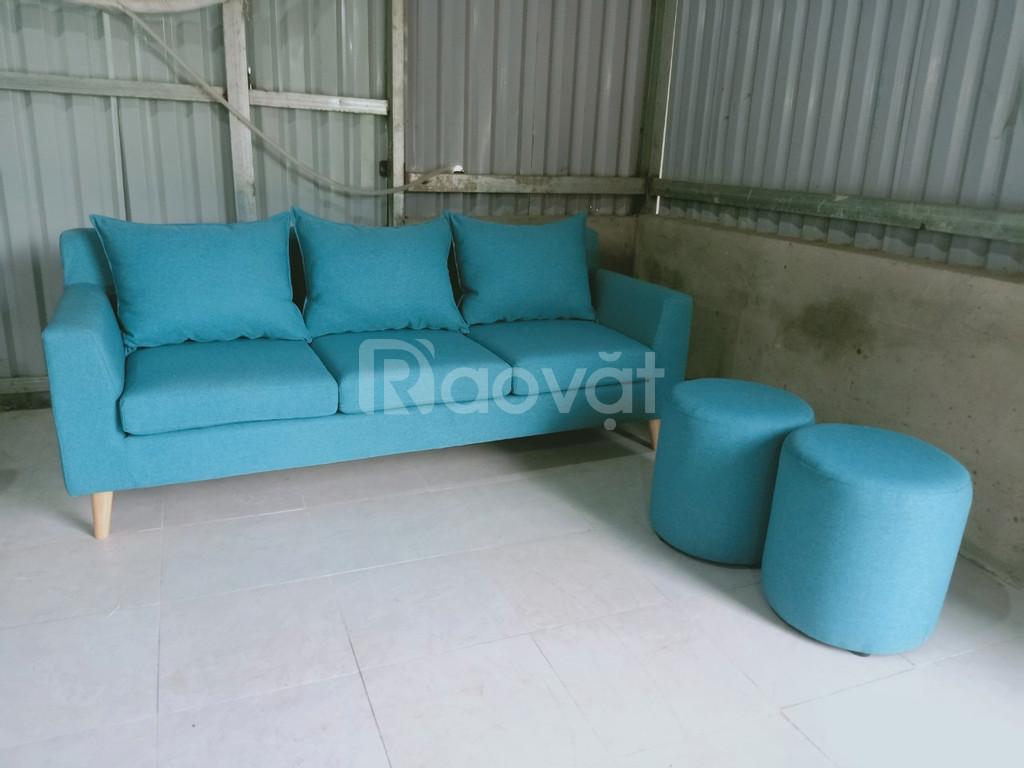 Ghế sofa vải cao cấp