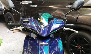 Nhượng lại Honda Airblade 125 smartkey xanh dương