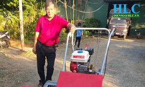 Lý do nên mua máy gặt lúa xếp dãy, cắt cỏ Thái Pro tại Hoàng Long