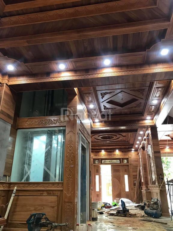 Chuyên ốp trần gỗ
