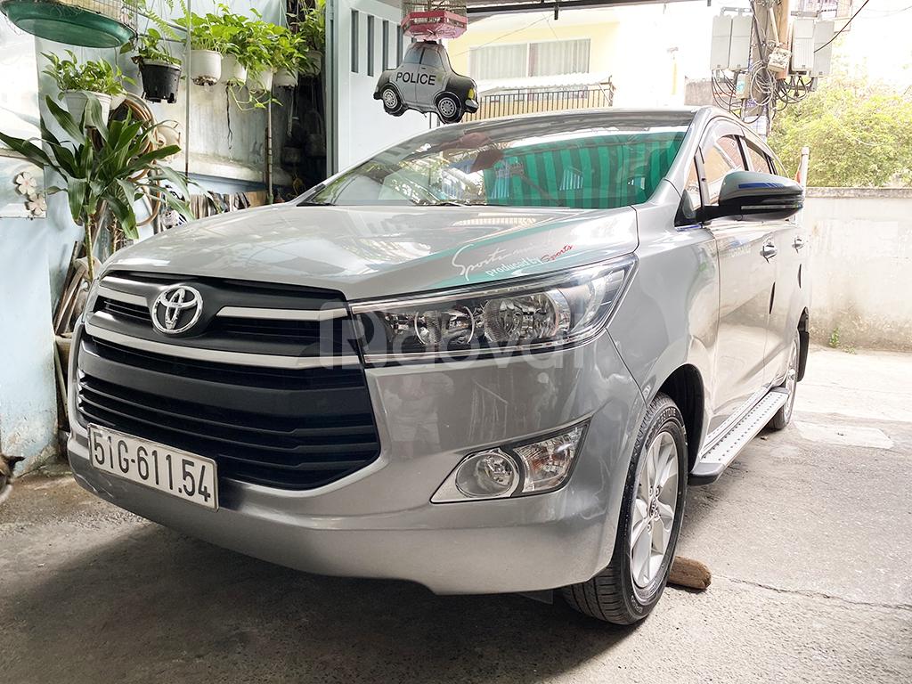 Để lại xe Toyota Innova E 2O18 mới tinh, giá rẻ