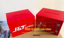Hộp mica tiền tip box có sẵn