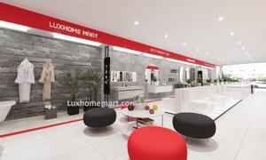 Ủy quyền showroom vật liệu xây dựng hoàn thiện Luxhome Mart