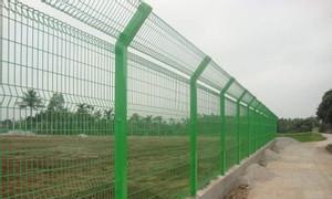 Hàng rào lưới thép bẻ tam giác 2 đầu