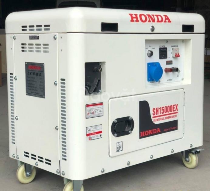 Máy phát điện chống ồn Honda 10kw chạy xăng giá rẻ