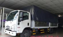 Isuzu 4T99 thùng bạt 6m2, giao ngay, KM 100% thuế trước bạ, máy lạnh