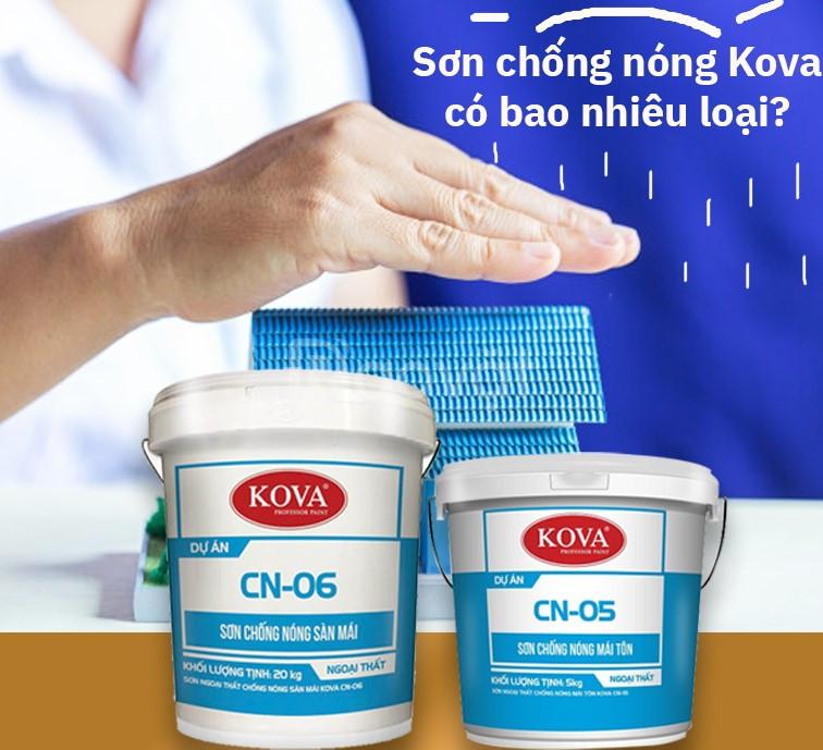 Bán sơn chống nóng Kova CN-06 giá bất ngờ trong tháng 03