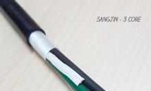Cáp Sangjin 3C x 0.5 SQM, cáp điều khiển RVV 3x0.5mm2 không bọc giáp