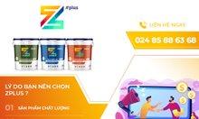 Sơn ZPlus, công nghệ Nhật Bản