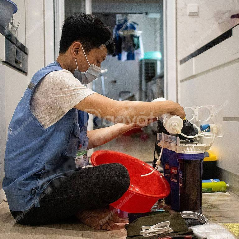 Tặng lõi lọc số 1, bảo dưỡng, vệ sinh máy lọc nước