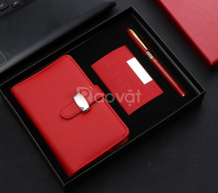 Gift set in ấn logo thương hiệu, tri ân khách hàng