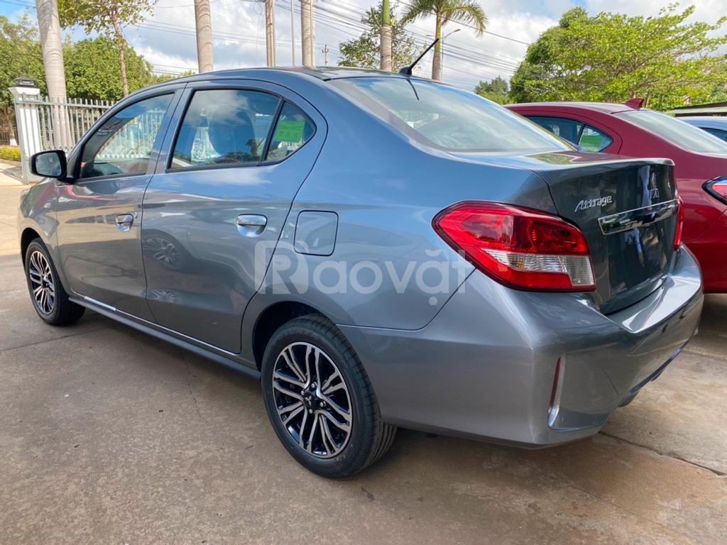 Ô tô 4 chỗ nhập Thái giá rẻ Mitsubishi Attrage MT
