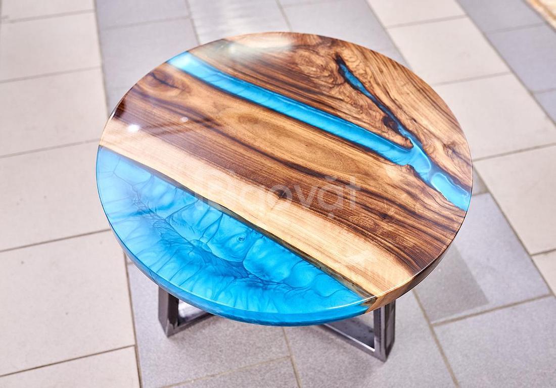 Xưởng sản xuất bàn gỗ Epoxy, bàn gỗ Epoxy nghệ thuật ichonau
