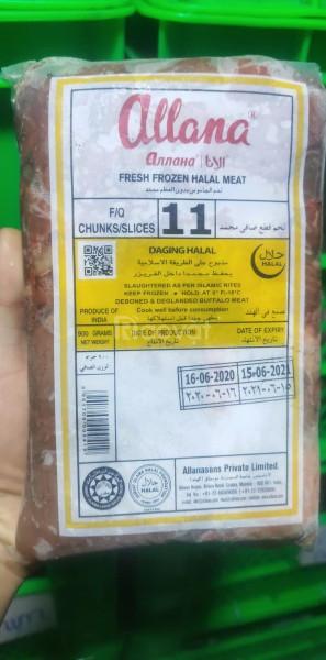 Thịt nạm trâu bò nhập khẩu