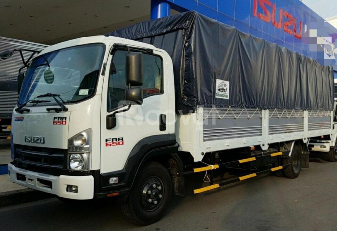 Isuzu 6.5 tấn, giao ngay, thùng dài 6m7, hỗ trợ trả góp lãi suất tốt