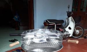 Bếp nướng than hoa inox Landmann 11242