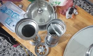Chụp hút khói bếp ăn gia đình giá rẻ tại Hà Nội