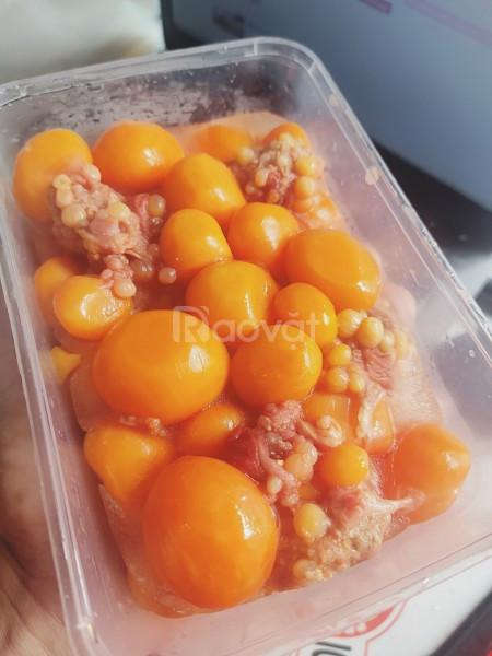 Trứng gà non thơm ngon, hấp dẫn
