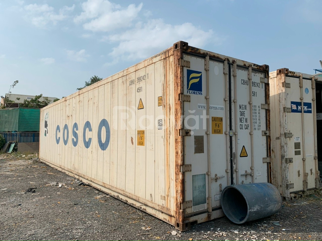 Container lạnh bảo quản hàng hoá