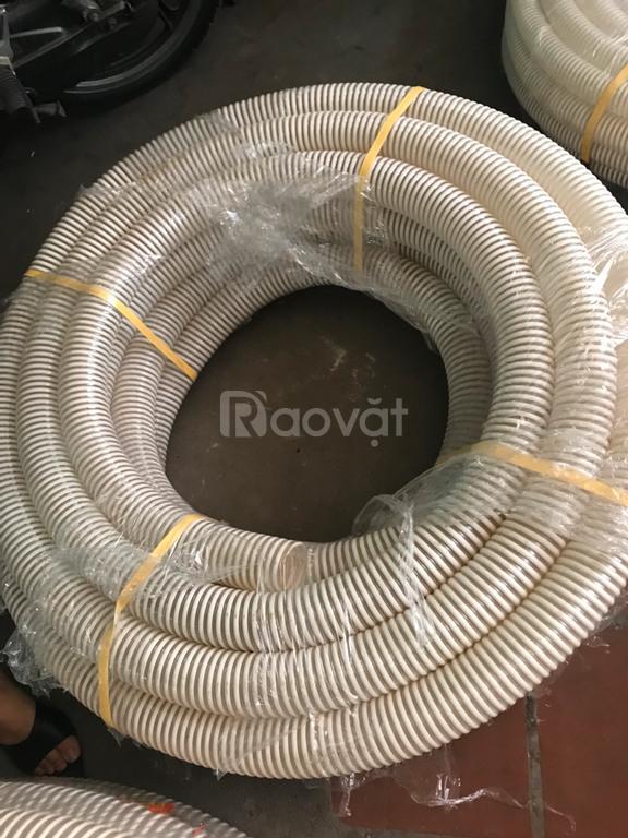 Nơi bán ống gió bụi trắng, ống nhựa gân trắng phi 150, phi 200