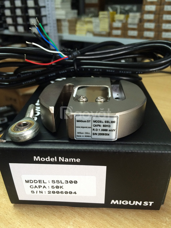 Loadcell chữ Z, SSL300 sản xuất tại Hàn Quốc