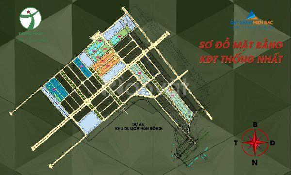 Đất nền dự án KĐT Thống Nhất, Vân Đồn