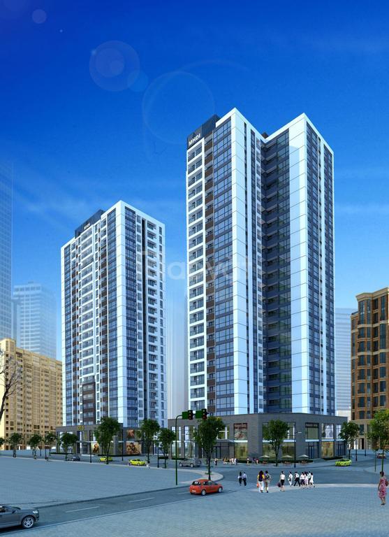Cho thuê căn hộ toà CT5-CT6 Lê Đức Thọ, 3PN, DT 100m2, căn góc, giá rẻ