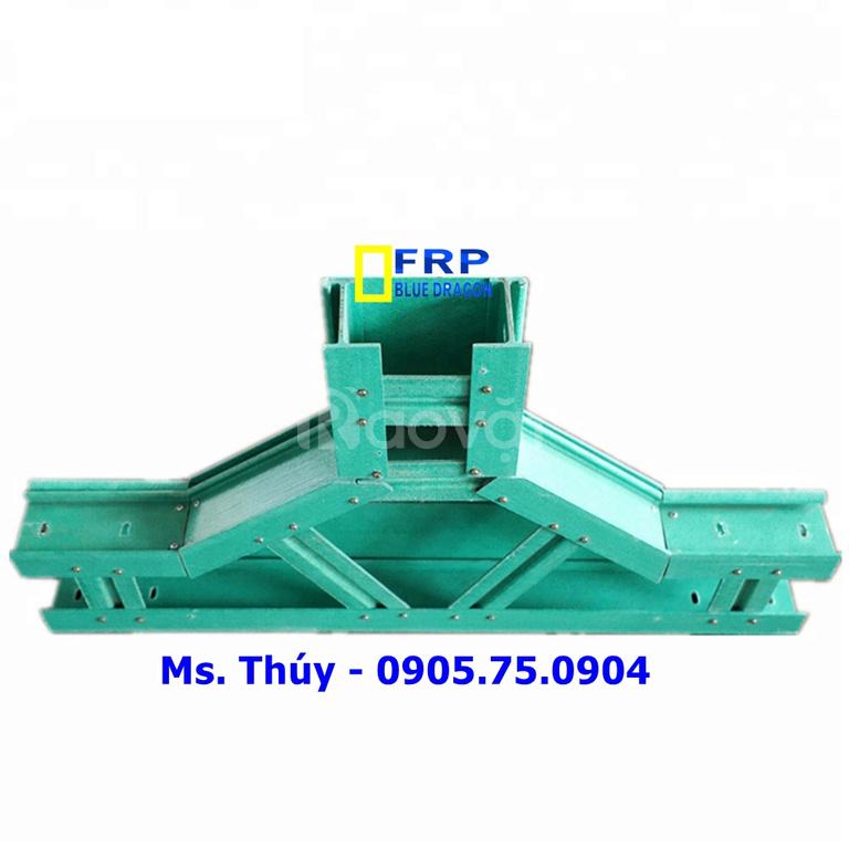 Thang cáp FRP, máng cáp FRP thay thế máng kim loại