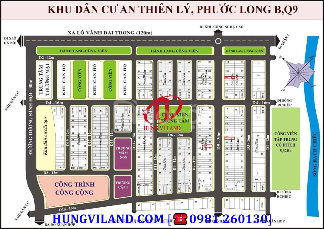Hungviland, tổng hợp đất nền An Thiên Lý cần bàn gấp