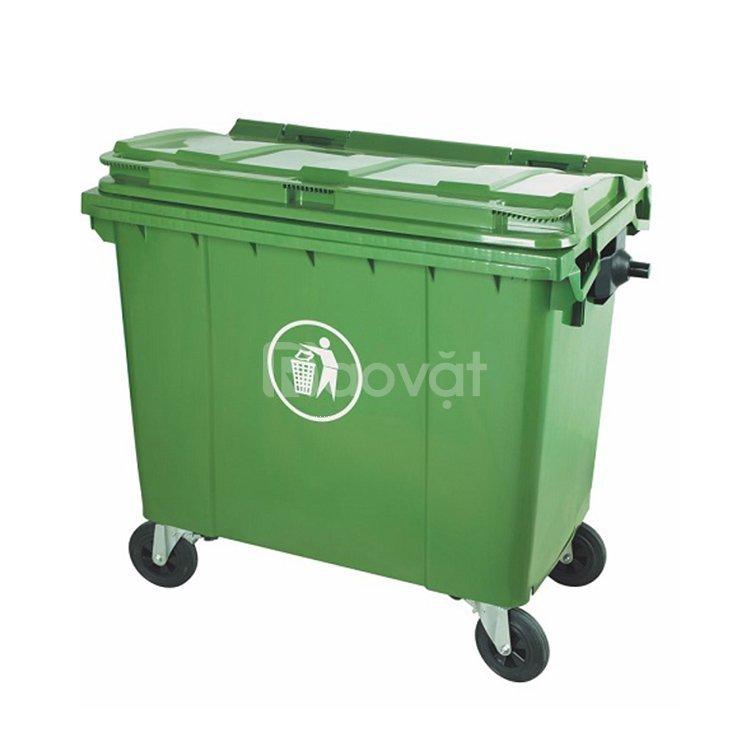 Thùng rác công nghiệp 660 lít tại Đà Nẵng lipan