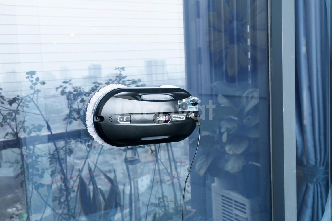 Robot hút bụi lau nhà, robot lau kính, hobot Đài Loan