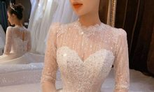 Cho thuê váy cưới mới 100%
